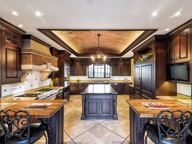 Desert Mountain Mediterranean Kitchen | cstark design